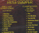 "Alice Cooper  ""Last temptaion & Classicks livesr"" - CD"