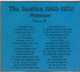 "THE BEATLES - ""Platinum `65-70"" CD"