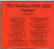 "THE BEATLES - ""Platinum `62-65"" CD"