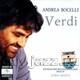 """ANDREA BOCELLI - """"Verdi"""" CD"""
