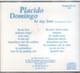 "PLACIDO DOMINGO - ""Be My Love"" CD"