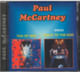 "Paul McCartney - 2 in 1 - ""Tug of War / Back to the Egg"" CD"