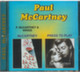 "Paul McCartney - 2 in 1 - ""McCartney / Press to Play"" CD"