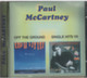 "Paul McCartney - 2 in 1 - ""Of the Ground / Single Hits 7"" CD"